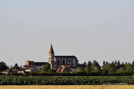 l'église d'Ennezat