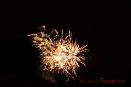 feux d'artifices Ennezat 2013