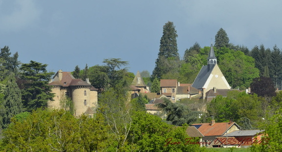 village de Montaiguët en Forez