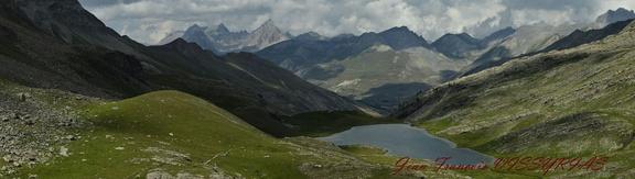 lac du Lauzanier, altitude 2284 m (Alpes-de-Haute-Provence)