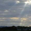 rayons de soleil en Limagne